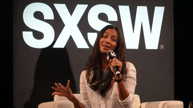 Zoe Saldana And Pandora S Box Sun News Austin